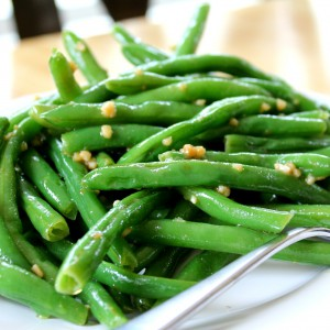 Ginger Garlic Greenbeans